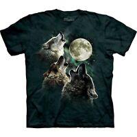 3 Wolf Moon Wolf T Shirt Child Unisex The Mountain
