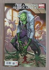 AMAZING SPIDER-MAN #7 MEXICAN CAMPBELL LIZARD VARIANT NM