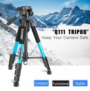 Professional ZOMEI Q111 Aluminum Tripod Pan Head Stand For Nikon Canon Camera DV