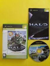 Microsoft Xbox (Original) Classics Halo Combat Evolved Game Complete VGC