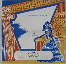Corneille 33 tours Cinna La Pleiade