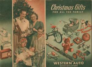 Original Vintage WESTERN AUTO Christmas Catalog Lionel Joy Bringer Special
