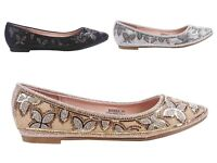 3 Color Formal Glitter Round Toe Slip On Dressy Party Rhinestones Womens Flats