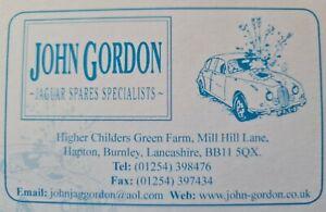 JAGUAR AND DAIMLER CAR PARTS - JOHN GORDON JAGUAR SPARES SPECIALIST