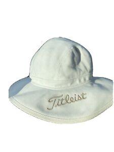 Titleist bucket cotton canvas golf hat