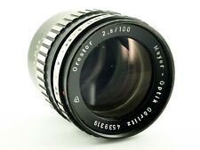 Meyer Optik goerlitz orestor objetivamente lens 2.8/100 Exakta + Canon EOS