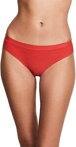 Calvin Klein 239103 Womens Form Bikini Panty Underwear Manic Red Size Medium