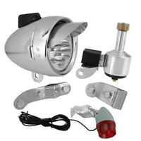 BICYCLE cruiser BULLET LIGHT  CHROME with 2 light Bulb  low rider new