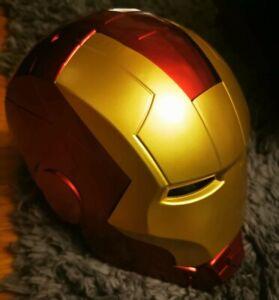 Legends Iron Man Elektronischer Helm Avengers Tony Stark Maske Cosplay neu
