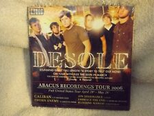 CD Desole Abacus Recording Tour 2006 Stunning Debut Brand New Sealed