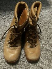 Vtg St. Moritz Rally Hiking Boots 8.5 Ankle Mountaineering Boots