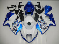 ABS Fairings Plastic Bodywork Kit for 99-07 Suzuki GSXR1300 Hayabusa Blue White