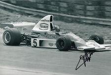 Emerson Fittipaldi Hand Signed Marlboro Team Texaco Photo 12x8 1.