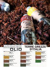 TERRE GREZZE D'ITALIA, 1 COLORE A OLIO PROFESSIONALI DA 60ML MAIMERI BELLE ARTI