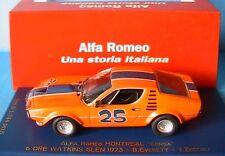 ALFA ROMEO MONTREAL CORSA #25 6 ORE WATKINS GLEN 1973