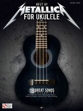 Best Of Metallica For Ukulele Learn to Play Heavy Rock Metal UKE Music Book