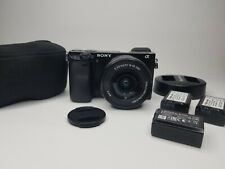 Sony Alpha a6000 Mirrorless Digital Camera 24.3MP SLR 3