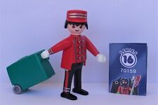 Playmobil  Mystery Series 16 Boys  Hotel Porter   #70159  Mint Condition