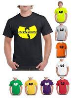 Wu-Tang Clan - Classic Yellow Logo  - Band Music Wu Tang T-Shirt (S-2XL)