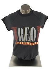 Vintage 1984 Reo Speedwagon Wheels Are Turnin Adult 50/50 Shirt Small (S)