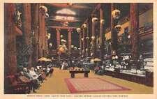 Glacier National Park Montana Massive Forest Lobby Antique Postcard K21810