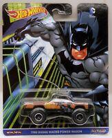 Hot Wheels 1980 Dodge Power Wagon 4x4 Pickup Batman Pop Culture Real Riders