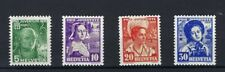 Mint Hinged 4 Number European Stamps