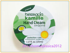 Herbacin Kamille Glycerine (Protection + Care) Hand Cream 20ml 0.67 fl.oz. Tin