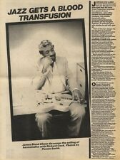 28/11/81PGN22/23 ARTICLE JAZZ GETS A BLOOD TRANSFUSION WITH JAMES BLOOD ULMER