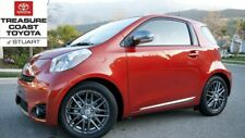 NEW OEM SCION iQ 16 INCH 8-SPOKE ALLOY WHEELS & CENTER CAPS 4 PIECE SET