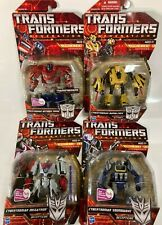 MISB Transformers Generations War for Cybertron Lot of 4 Deluxe Optimus Megatron