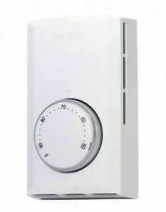 Cadet 08300 White Wall Mount Single Pole Mechanical Thermostat