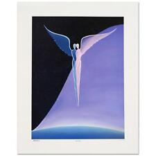 """Steven Lavaggi - """"One Wing"""" Limited Edition Lithograph, Hand Signed and Numbered"""