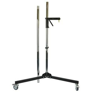 Wheeled Stand With Gleitträgerarm Manfrotto 231CS Tripod 231ARM Silver Column