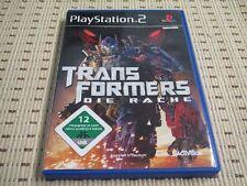 Transformers Die Rache für Playstation 2 PS2 PS 2 *OVP*
