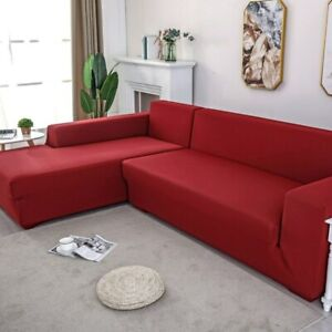 Solid Color Sofa Covers Towel Living Room Furniture Armchair Couches Sofa