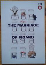 The Marriage of Figaro programme English National Opera (ENO) 2014 David Stout