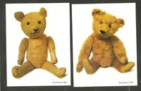 US SC # UX382-UX385 Teddy Bears FDC . Postal Cards