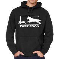 Fast Food Fastfood Hund Katze Dog Cat Sprüche Spaß Fun Kapuzenpullover Hoodie