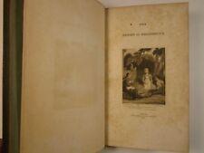 1827 Oliver GOLDSMITH Poems BOOKPLATE George Herbert Palmer PLATES John Sharpe