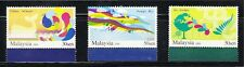MALAYSIA 2009 CONSERVATION OF ENVIRONMENT COMP. SET OF 3 STAMPS MINT MNH UNUSED