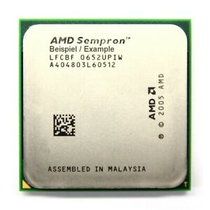AMD Sempron 64 3400+ 1.8GHz/256KB Sockel/Socket AM2 SDA3400IAA3CN Processor CPU