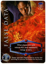 False Data #94 Torchwood 2006 TCG CCG Card (C319)