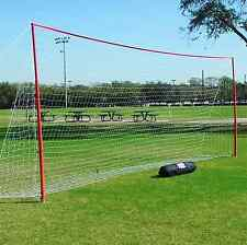 6x18 J-Goals by Soccer Innovations | Portable Goals for Sports | Backyard Goal