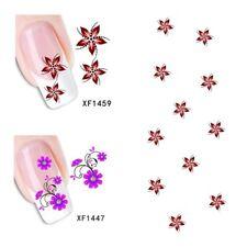 2Sheet/New Fashion Trend Beautifully Beautiful DIY Nail Stickers XF1459+1447