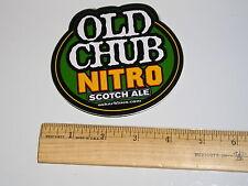 OLD CHUB NITRO DALE'S ALE OSKAR BLUES BREWING BREWERY BEER STICKER Oscar CO