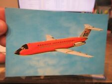 Other Old Postcard Airplane Plane Aircraft Braniff International Herman Miller