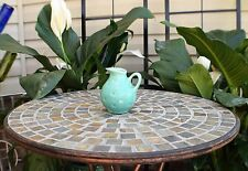 Vintage Mid Century Turquoise Green ROYAL HAEGER Pottery Vase Pitcher R1582-5