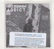(HE163) Mike Dignam, Addict - 2015 DJ CD