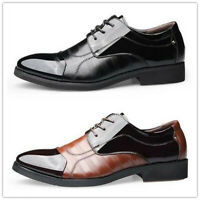 New Men Leather Business Dress Formal Casual Shoes Oxfords Loafers Pointy Toe